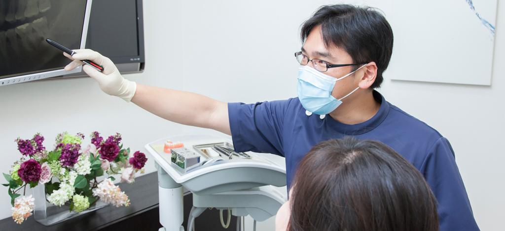 茅ヶ崎の歯医者、湘南まつだ歯科医院のカウンセリング